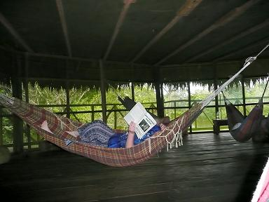 Nicky in a Hammock